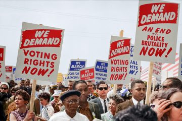 Mariching for votingrights